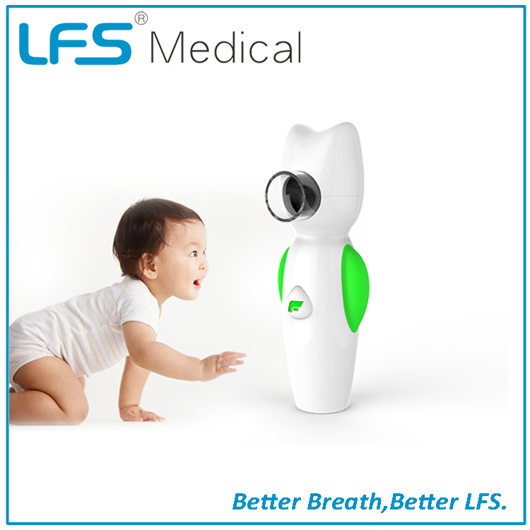 A8+ Air Angel Handheld Travel Mesh Nebulizer with battery