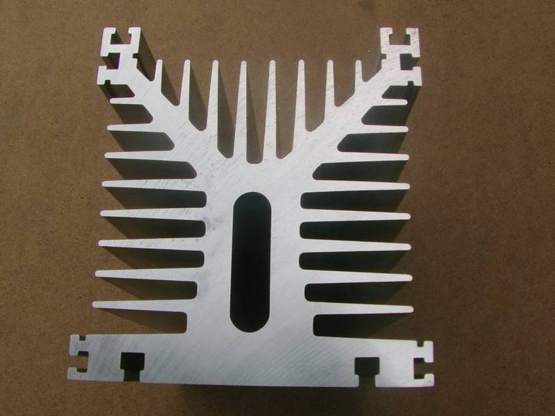 aluminum extrusion profiles for construction or other industrial use