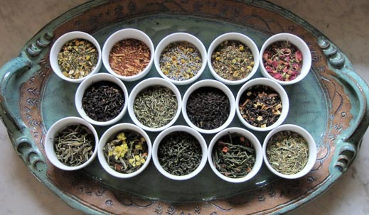 TEA / DARJEELING TEA / GREEN TEA