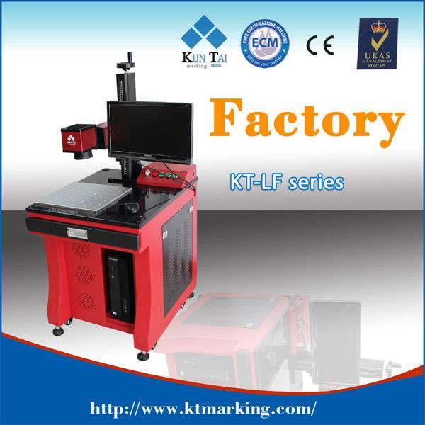 Stand type Fiber laser marking machine
