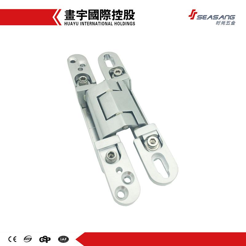 3-way adjustable invisible tectus door hinge concealed hinges for flush, wood, steel doors