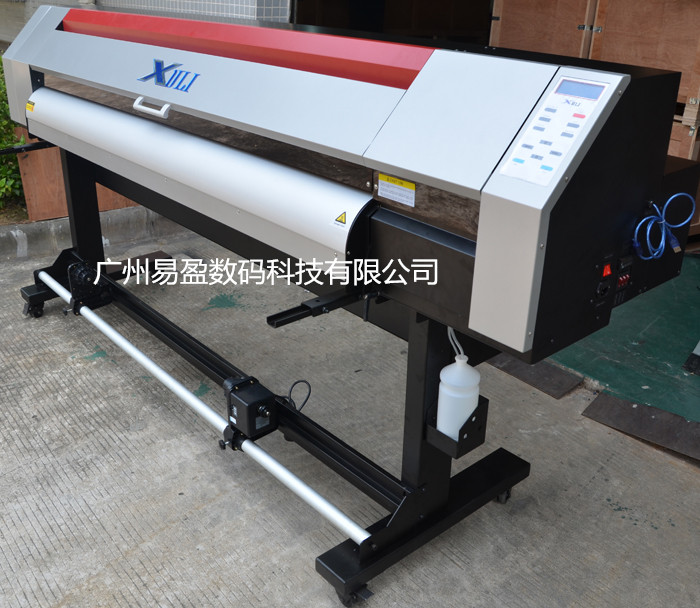1.8m high quality resolution advertising printing Inkjet eco solvent printer