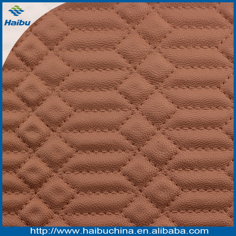 Embossed Anti-mildew PVC Synthetic Leather for Bag