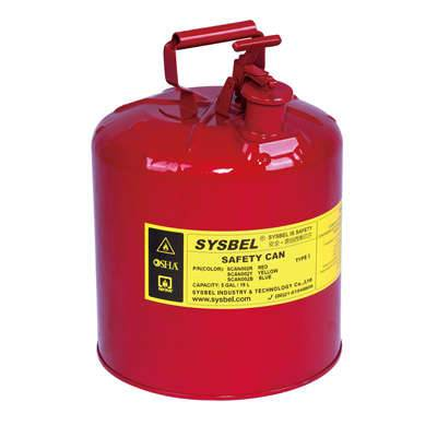 Type I Safety Can(5Gal),SYSBEL