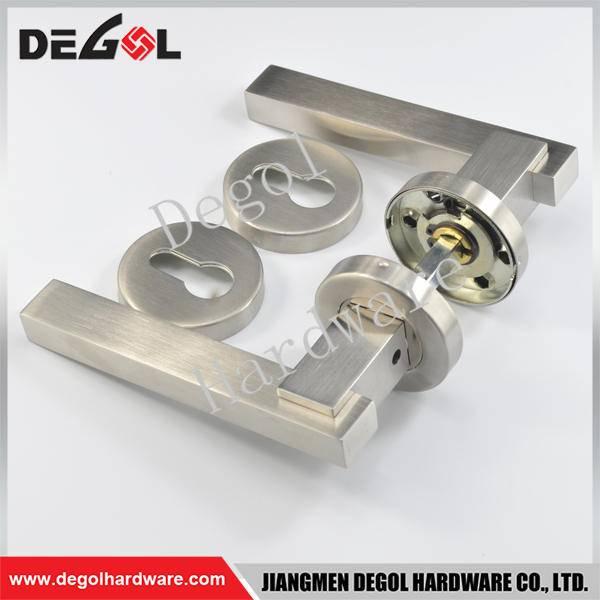 Custom stainless steel solid fire resistant door handles