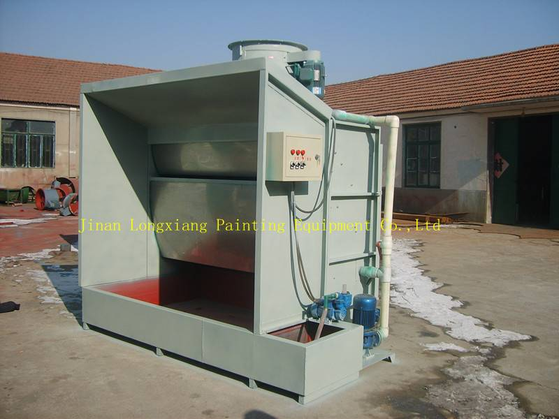 water curtain spray booth:   LY-9240A