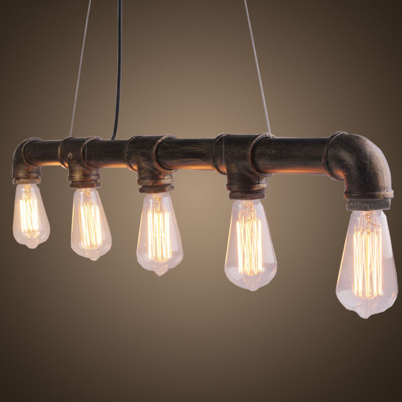 antique vintage indoor hanging pendant light for coffee shop