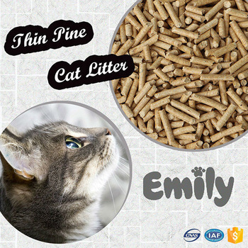 Premium Pinewood cat litter
