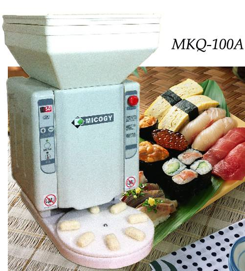 High-tec automatic sushi rice ball machine