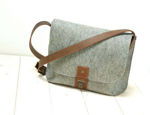 Felt Shoulder Bags Laptop Bags School Bags feltro/Feltro Laptop Bag/Filz Laptoptasche/Hombro Fieltro
