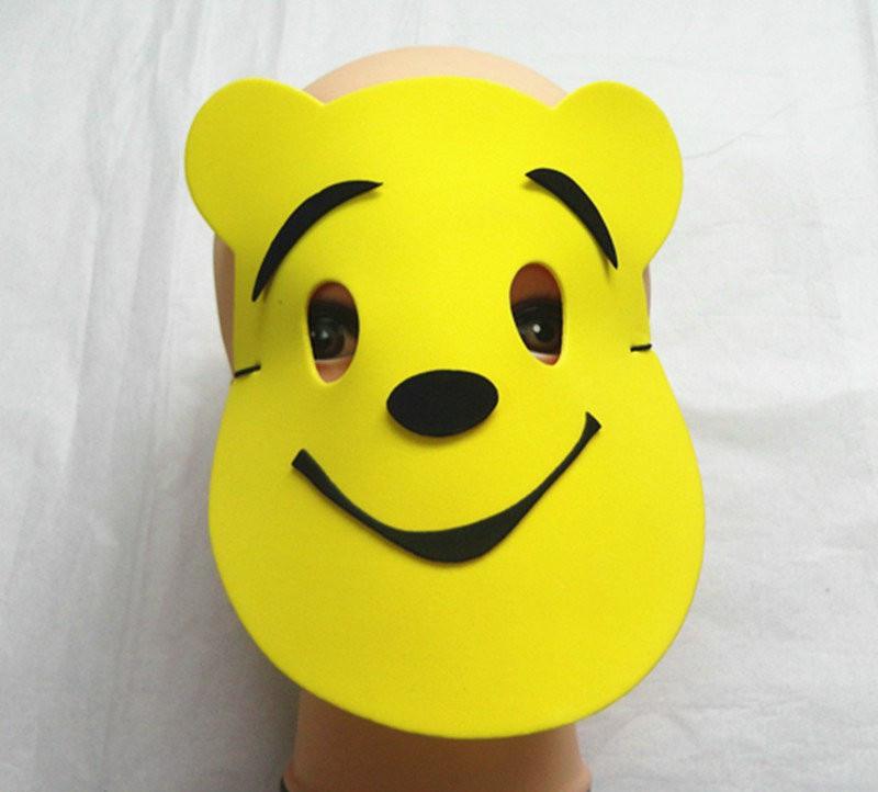 Halloween Christmas Children Cartoon EVA Forest Animal Winnie the Pooh Mask
