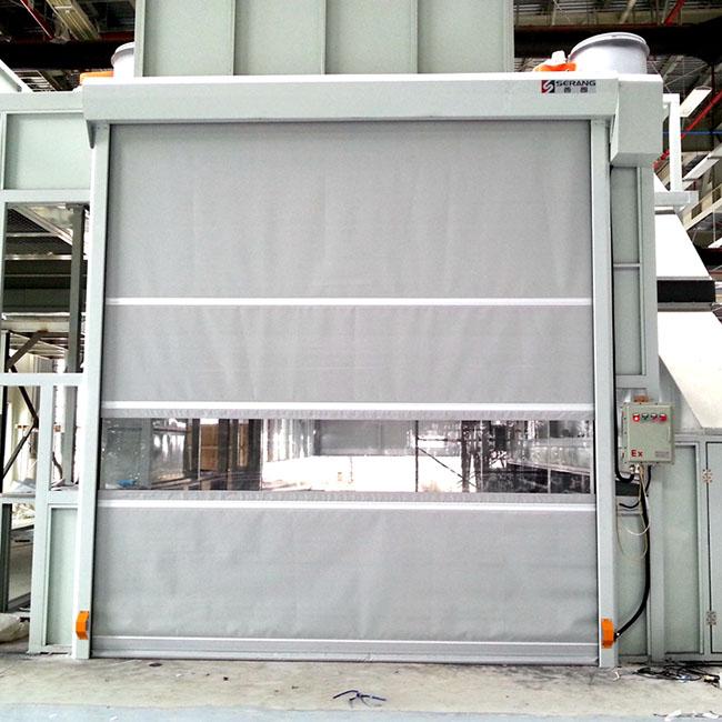 PVC Explosion-proof shutter high speed door