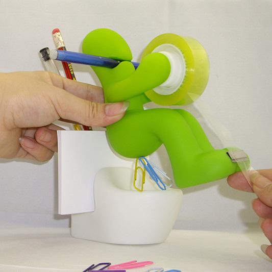 Factory production creative toilet tape seat, tape dispenser
