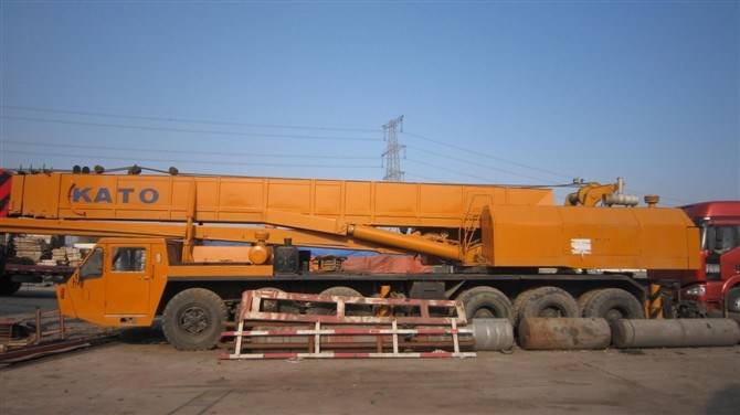 Used Truck Crane KATO 80TON NK-800E