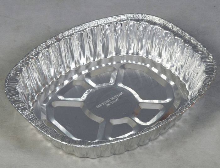 airline food container use alu foil