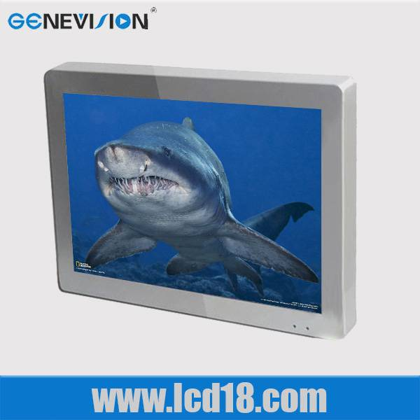 18.5inch bus lcd advertising display with AV output