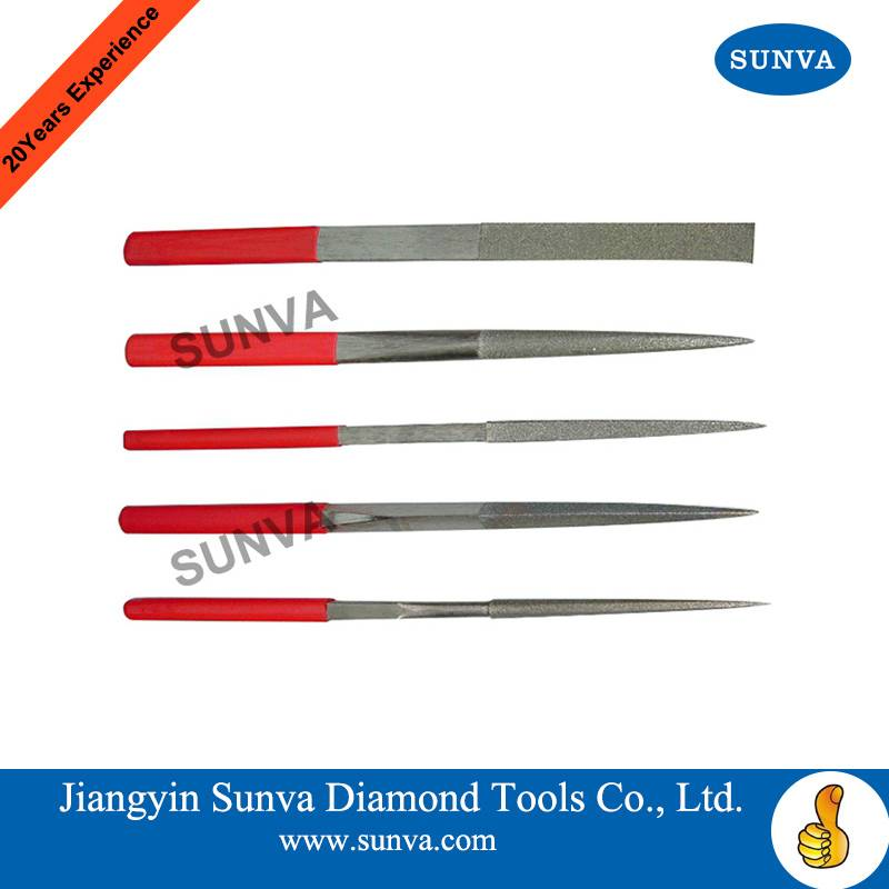 SUNVA Diamond Hand Files / Diamond Files