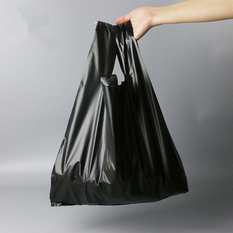 Customized Environment Friendly Vest Carrier Shopping Bag Plastic for Supermarket