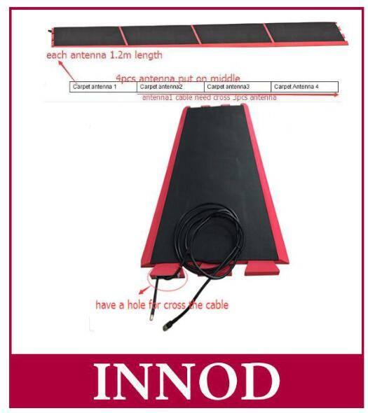 10dbi passive sports uhf floor mat rfid antenna with carpet