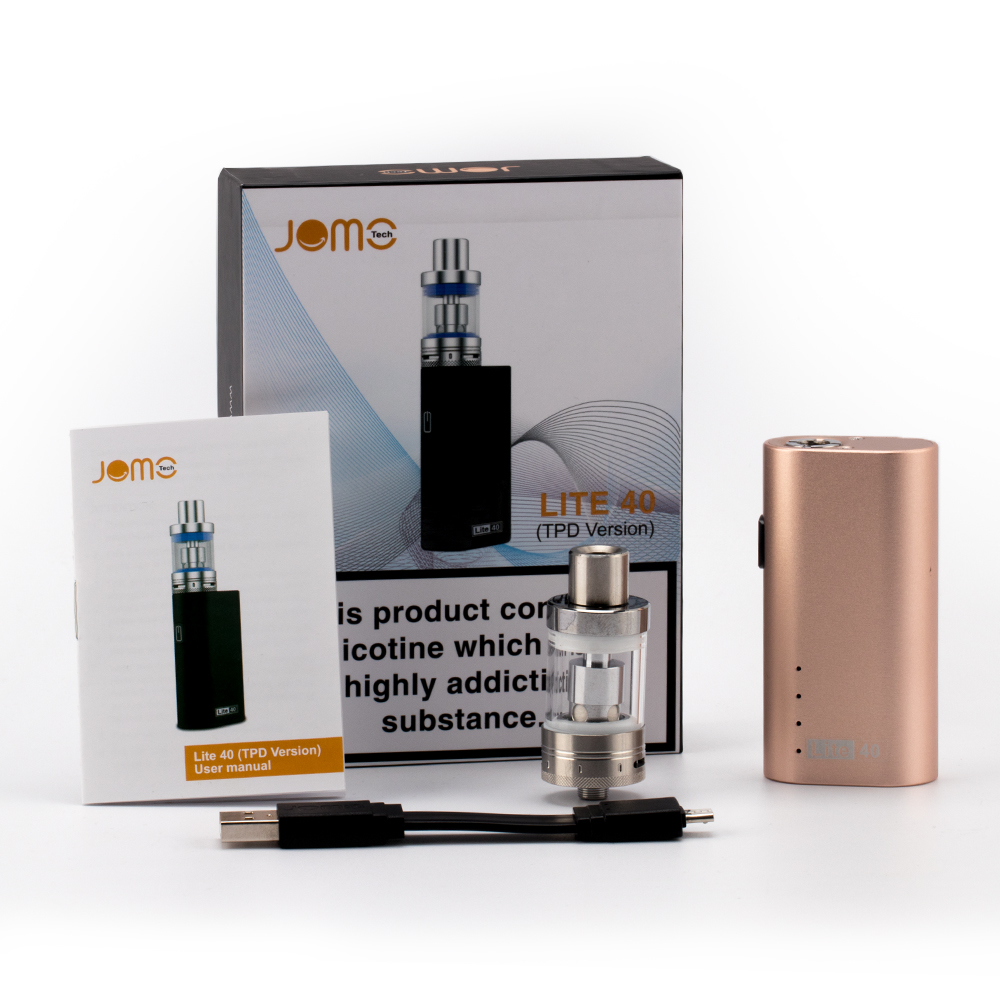 Free E Cigarette Sample Chinese Supplier Cbd Oil Atomizer Lite 40