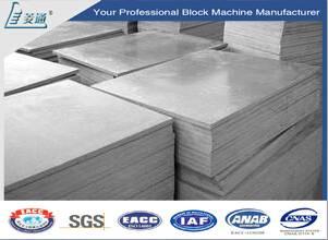 ISO9001 Plastic Brick Block Pallet PVC Plastic Pallet for Brick Block Making Machine Price
