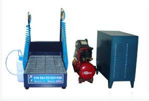 Wet type motorized Safety Shoes Cleaner(Model CSOL-0504)