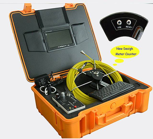 Snake Inspection Camera with Counter Device