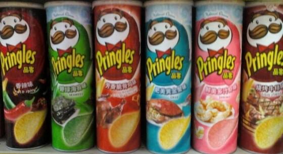 Pringles Potato Chips All Flavours