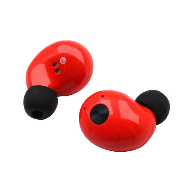 Hot Red Noise Cancelling Blue tooth Mini Wireless Earphone for Cell Phone and Smart Phone