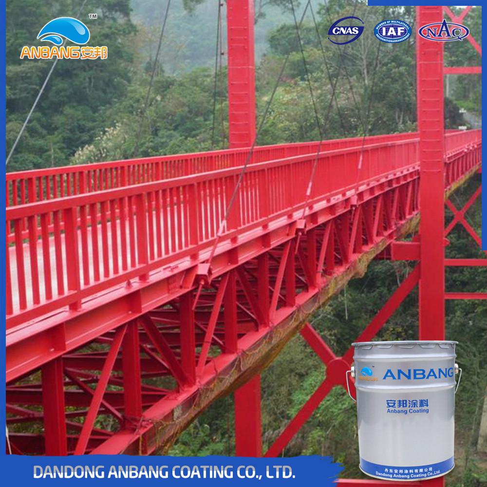 AB225 steel structure anticorrosion acrylic polyurethane paint