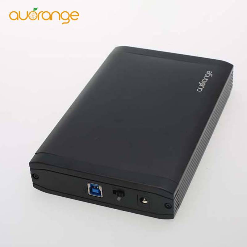USB 3.0 3.5 inch Aluminum SATA HDD Case Hard Disk Drive External Enclosure