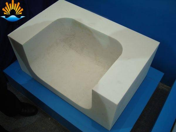 Alpha Fused cast Alumina Block