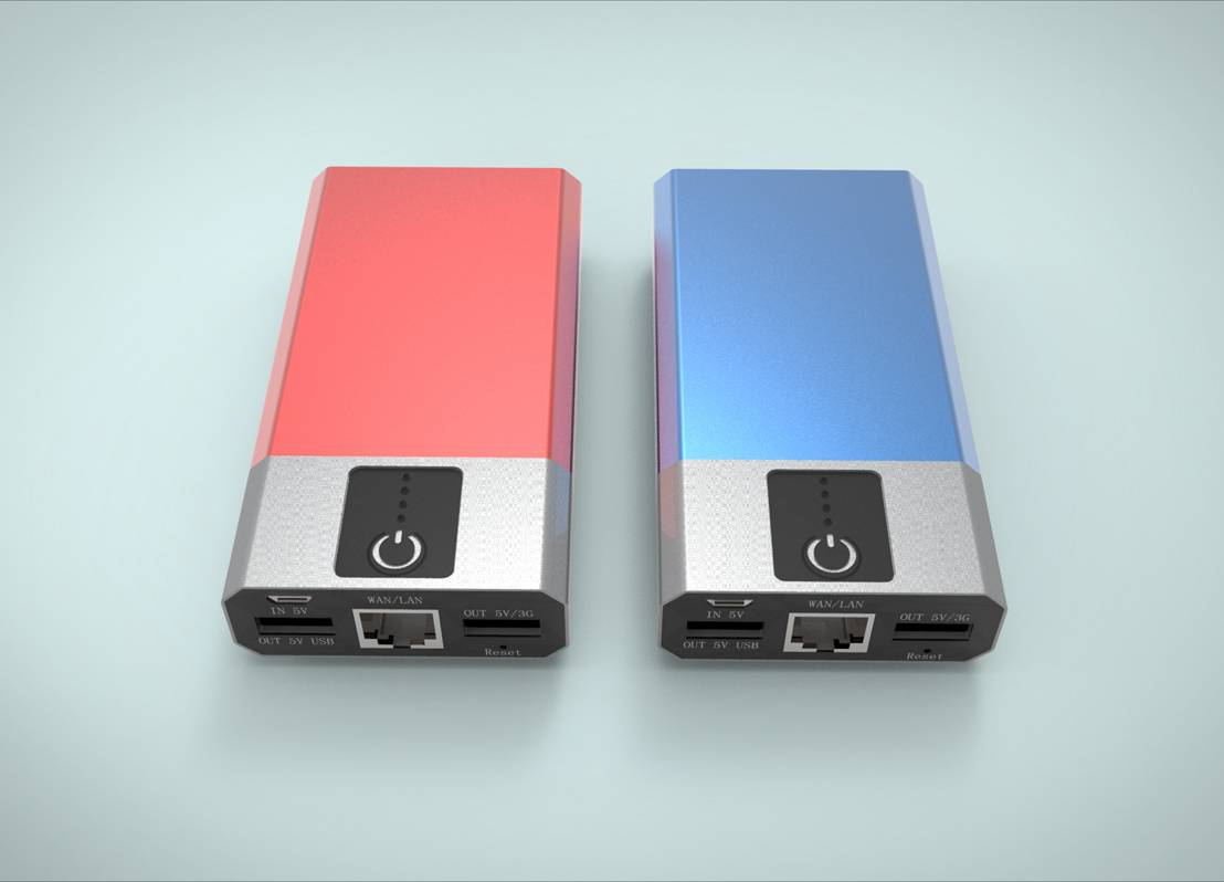 2014 Wifi power bank support 3G router function and wireless relay