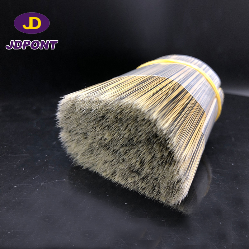 Synthetic filament grey brush filament