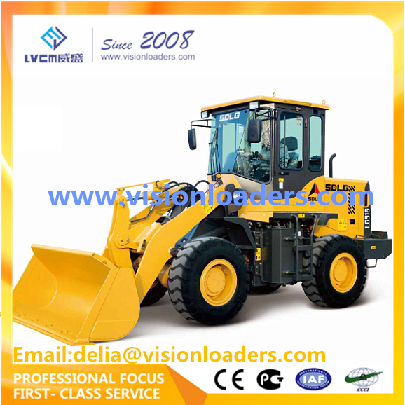 SDLG Small loaders LG916 Wheel loader L916 1T Loaders for sale