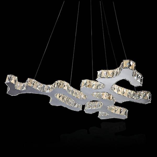 led crystal pendant light chandelier light