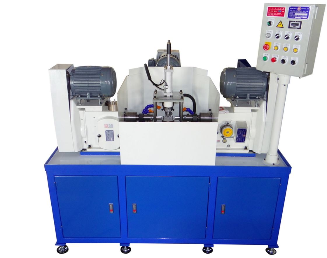 Triple station special purpose machine for tapping