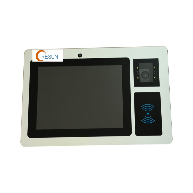 Industrial Panel PC with 2D Barcode Scanner and RFID Reader
