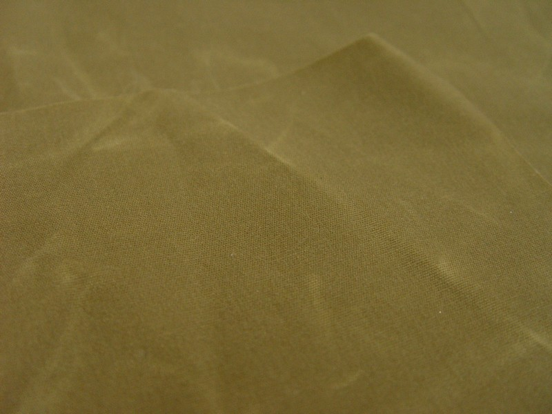 Waxed Cotton Canvas Fabric