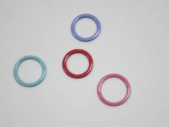 Nylon Coated Bra Ring Adjuster for Lingerie, Underwear
