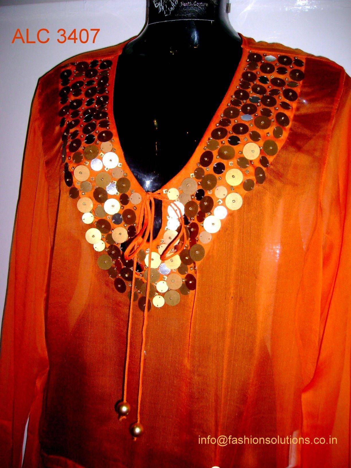 Ladies Hand embellished Caftan