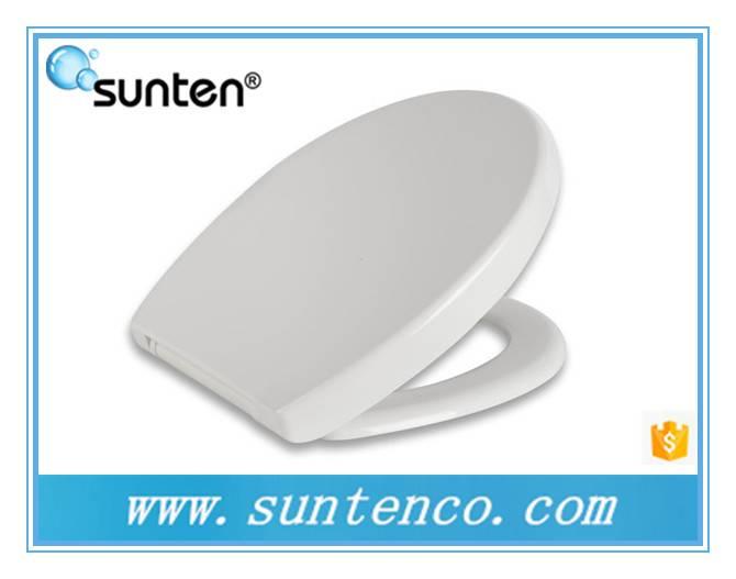 Xiamen Round White Cera Toilet Seat, Soft Closing Cera Toilet Seat