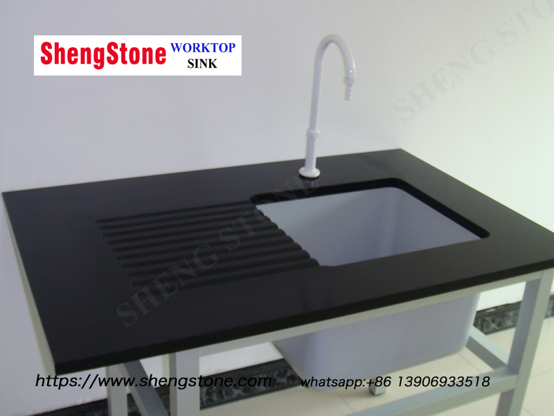 Laboratory Classic Black Epoxy Resin Draintop, Chinese Manufacturer