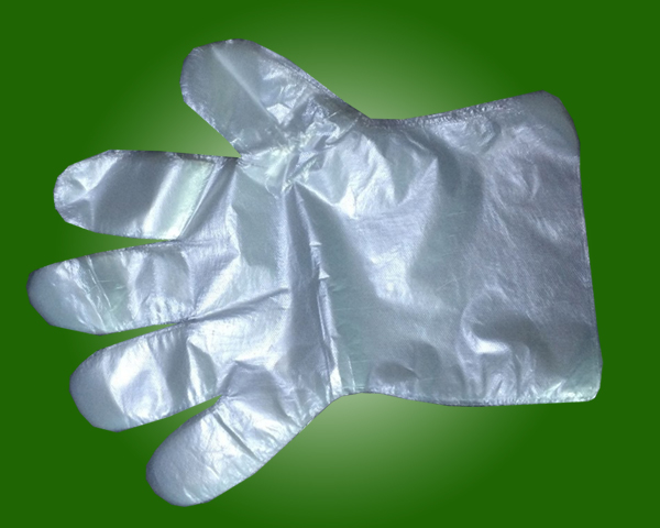Medical Disposable PE Gloves with CE and ISO