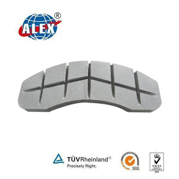 High Technology Composite Material Brake Pad for Train