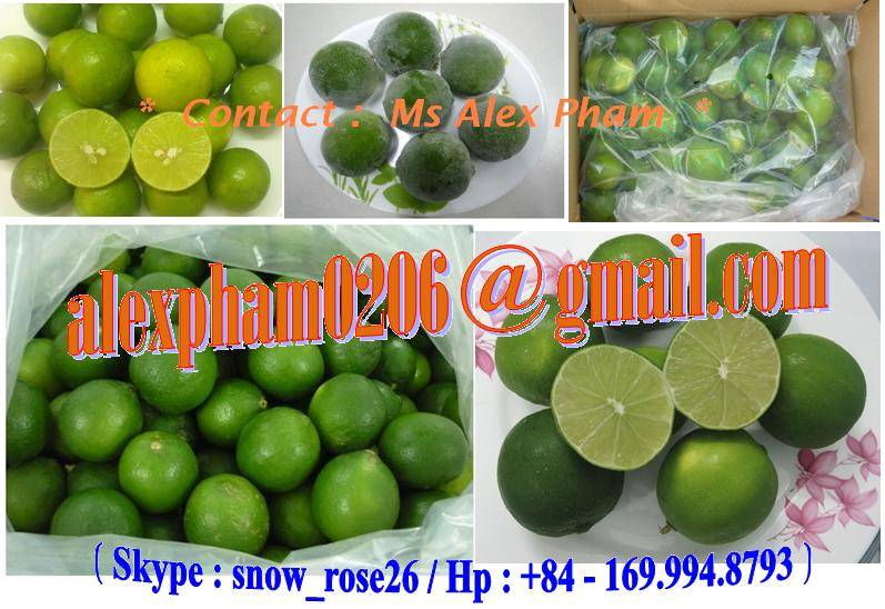 LIME/ LIME SEEDLESS/ LIME SEED/ FRESH LIME/ FROZEN LIME/ DRY LIME LEAVES/ FRUIT JUICES
