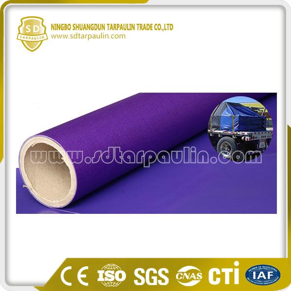 Heavy Duty PVC Coated Fabric Truck Cover Tarp