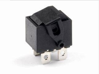 Mini Plastics Rocker Switch Fitted with Rotating Arm Actuator