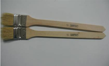 "3"" bristle angle paint brush long handle"