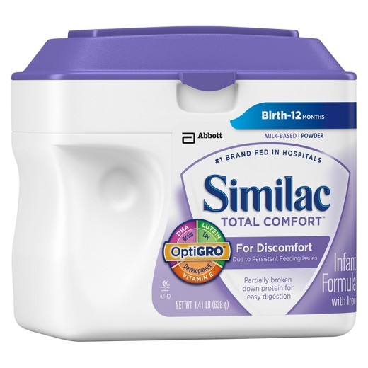 Similac Total Comfort Powdered Formula for Discomfal Comfort Powdered Formula for Discomfort, 1.41